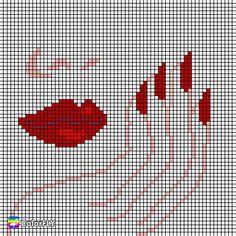 Cross Stitch Gallery, Cross Stitch Heart, Cross Stitch Designs, Counted Cross Stitch Patterns, Motifs Perler, Perler Patterns, Loom Patterns, Cross Stitch Cushion, Cross Stitch Bookmarks