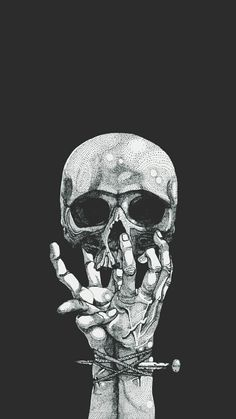 """""""How are you, sweetheart?"""" His mother asks, a look on genuine concern on her face as she stares at his knuckles, covered in various scars. Clarke gives her a sarcastic smile and a thumbs up. """"Never better. Dope Wallpapers, Aesthetic Wallpapers, Art Doodle, Satanic Art, Arte Obscura, Skeleton Art, Skeleton Bones, Hypebeast Wallpaper, Dark Wallpaper"""