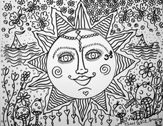 hippie coloring pages bing images coloring pages pinterest adult coloring coloring books and doodles - Hippie Coloring Pages