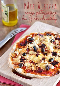 La fameuse pâte à pizza sans pétrissage de Jim Lahey ... Sans effort, sans robot et avec juste un peu d'anticipation… Recette adoptée !