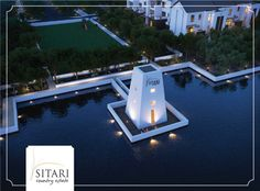 Sitari Country Estate will offer residents a number of unique visual features to enjoy such as this beautiful silo surrounded by water. What else would you like to see incorporated at Sitari to make for a happier, healthier lifestyle? Country Estate, Number, Mansions, Lifestyle, House Styles, Unique, Water, Beautiful, Gripe Water