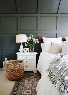 Before and After Bedroom Makeover With Sherwin-Williams 2021 COTY - Thistlewood Farm