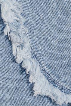 M.i.h Jeans - Harley Frayed Denim Dress - Mid denim -