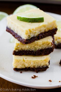 KeyLime Chocolate Brownie