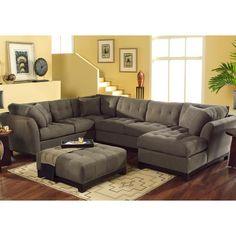 "My dream sofa: Cindy Crawford ""Metropolis"" Sectional"