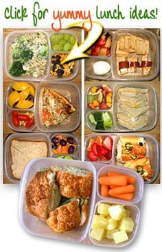 Art A website with tons and tons of packable lunch ideas! dinner-dinner-dinner