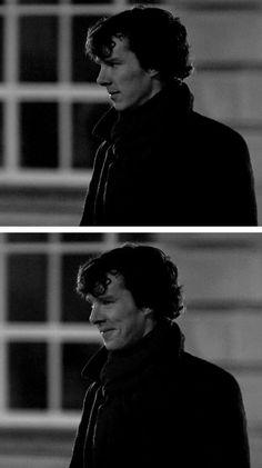 "Sherlock - ""'Cause you're an idiot"" moment Sherlock Fandom, Sherlock Holmes Tattoo, Sherlock Comic, Sherlock Poster, Sherlock Tumblr, Sherlock Holmes Bbc, Tatuagem Do Sherlock Holmes, Shinee Sherlock, Disney Films"