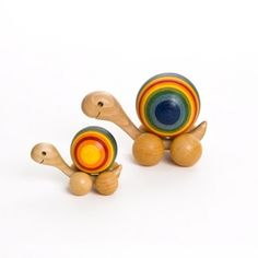 Natural Wooden Toys | natural wooden snail toys | Elliot's Organic Room
