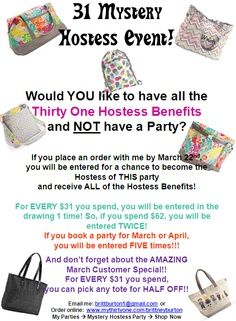 thirty-one party ideas - Google Search