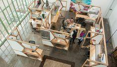 Los espacios de coworking más originales y creativos son tendencia. Impulsa la productividad de los empleados rodeándoles de cosas bonitas. ¿Te apuntas?