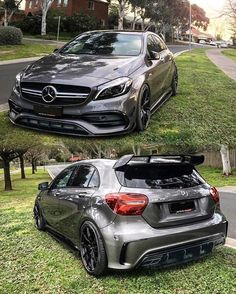 The fastest cars. Sports cars are created to go fast. With a very cool and nice body design. Like this AMG Maserati, Lamborghini, Bugatti, Ferrari, Mercedes Auto, Mercedes A45 Amg, Audi, Porsche, Tuning Motor