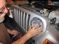 Thinking of putting new Xenon headlights in your Jeep Wrangler? We just did it! Here are photos, plus tips!