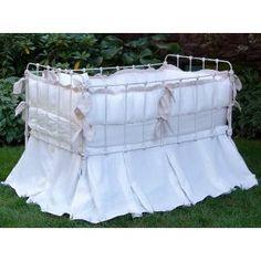 Lulla Smith Avignon Crib Linens, Lulla Smith Luxury Crib Bedding