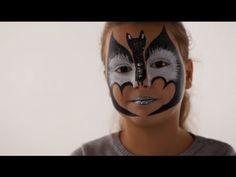 Maquillage Chauve Souris - Tutoriel maquillage enfant facile et 13 autres tuto