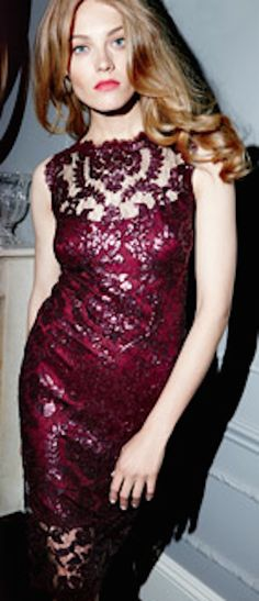 absolutely loving this beautiful burgundy dress http://rstyle.me/n/p2cgrr9te