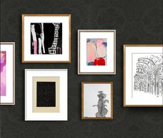 A Glam Gallery Wall from Artfully Walls
