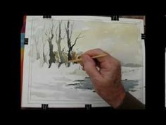 How to paint a snow scene no2 with Alan Owen