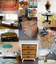 This is how I roll, vintage furniture, upcycled, crafts, diy, for the home, inspiration, decor, ruche