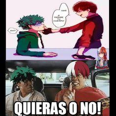 Anime Meme, Otaku Anime, Boku No Hero Academia, My Hero Academia Manga, My Hero Academia Episodes, My Hero Academia Memes, Lgbt Anime, Memes Lindos, New Memes