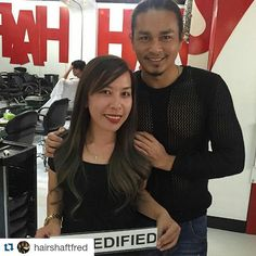 #Repost @hairshaftfred with @repostapp  Thank you Maureen @maureenspader88 You too can get your Dreamhair!  #Fred360  Just Call / Viber / Text 0917-6283906  Or visit www.fredified.com www.facebook.com/fredigodfather to make an appointment.  You may also visit us at 3rd Level The Podium Mall ADB Avenue Ortigas Center Mandaluyong City  Follow our official social media accounts! @hairshaftsalon @hairshaftsalonglorietta  @hairshaftpodium @hairshaftsalonfort @hairshaftrobmanila #fredified…