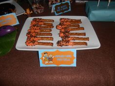 Flintstones Birthday Party Supplies | ... Gentleman and a City Girl fell in Love: Flintstones Candy Buffet