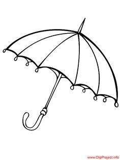 Umbrella Image To Color