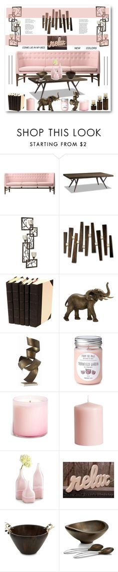 """""""Brown & ........"""" by stranjakivana on Polyvore featuring interior, interiors, interior design, home, home decor, interior decorating, &Tradition, Brownstone, Uttermost and NOVA"""