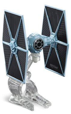 Two of boys? favorite brands?Hot Wheels and Star Wars?have joined forces! Launch into hyperdrive with a Star Wars TIE Fighter, brought to you by Hot Wheels. Kids will love re-creating some of the univ