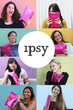 Get yourself the best gift ever! If you're looking for surprises and new makeup, try ipsy! You get personalized beauty products each month. Beauty Secrets, Diy Beauty, Beauty Makeup, Fashion Beauty, Beauty Hacks, Beauty Products, Beauty Tips, Makeup Products, Makeup Tips