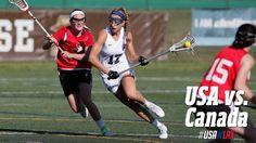 Highlights: Team USA vs. Canada U19 Lacrosse