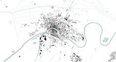 Pisa Nolli map, 1:20.000