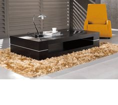 682 Modern Wenge Matte Finish Coffe Table by J&M Furniture