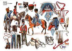 Les cavaliers de la Grande Armée :: 12 ème hussards