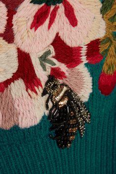 Gucci   Embroidered wool sweater   NET-A-PORTER.COM                                                                                                                                                                                                                                                                                                                                                                                                                                                                                                                                                             NET-A-PORTER