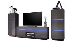 Wohnwände, TV-Boards, Kommoden und andere Möbel für das Wohnzimmer bei vladon.de