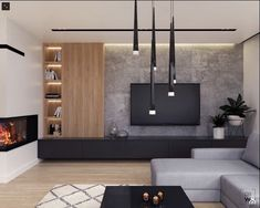 Living Room Interior, Home Living Room, Living Room Decor, Interior Livingroom, Home Room Design, Home Interior Design, Living Room Tv Unit Designs, Manufactured Home Remodel, House Rooms