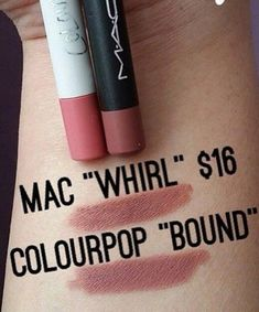 Colourpop Dupes For High End Makeup! #Beauty #Musely #Tip Colourpop Dupes, Lipstick Dupes, Lipsticks, Mac Dupes, Eyeshadow Dupes, Anastasia Brow Wiz, Beauty Dupes, Beauty Makeup, Makeup Tutorials