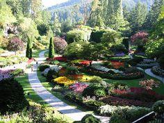 Butchart Gardens, Victoria, Canada