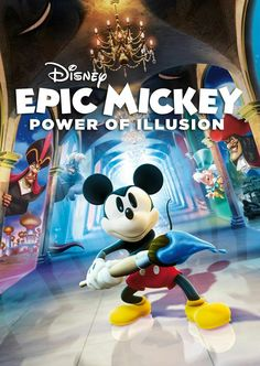 Epic Mickey Power of Illusion Nintendo 3Ds XL Video game