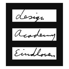 Design Academy Eindhoven logo by The Stone Twins