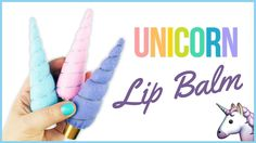 How to make unicorn horn lip balm. in this diy tutorial i show how to make this cute felt unicon lip balm wrap. this video tutorial is very easy to make and ...