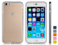 2 in 1 Rubber + Plastic Case with Flash for iPhone 6 #iPhone