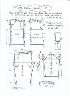 Patrón de Pijama Unisex | PatronesMil