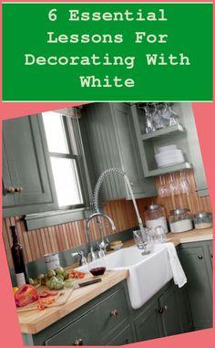 Granite #Essential #Lessons #Decorating #White...