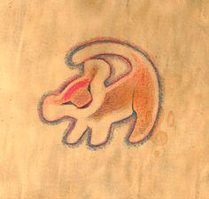 simba drawing rafiki - Google Search