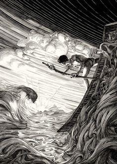 Incríveis ilustrações de Nicolas Delort