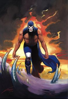 #BlueDemon con el trazo inconfundible de #Gallur