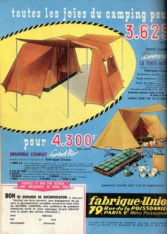 Vintage Camping Equipment