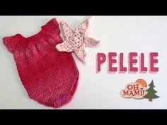Pelele para bebé a crochet - YouTube