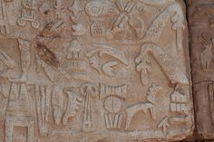 Hittite hieroglyphics | Flickr - Photo Sharing!